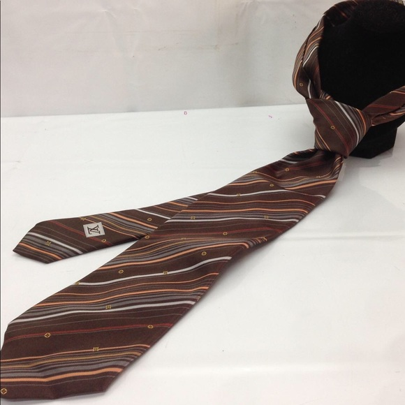 f4e812a07bd Louis Vuitton Other - Auth Louis Vuitton Italian Silk Men s Necktie!